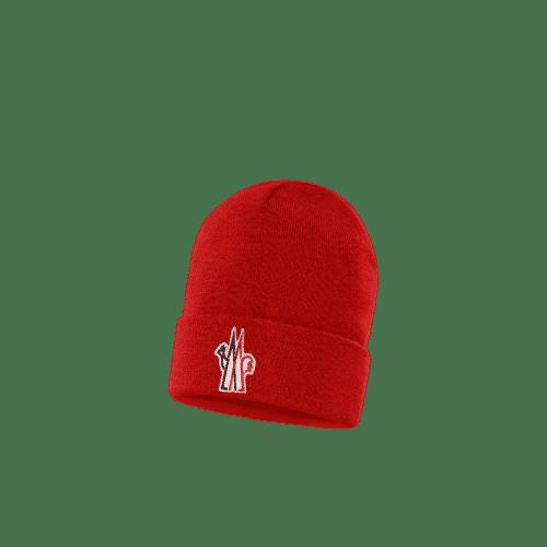bonnet M rouge