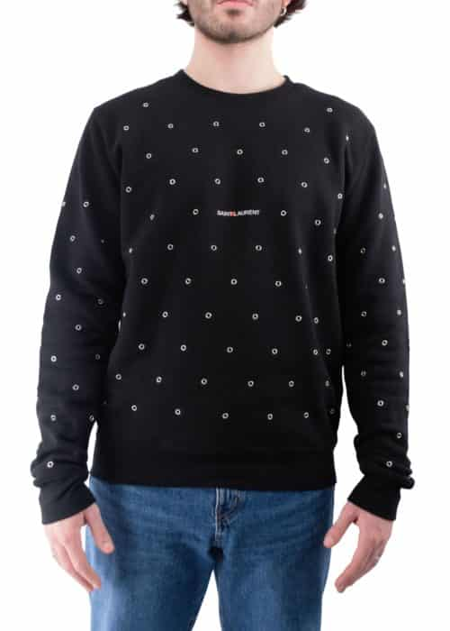 SWEAT OEILLETS NOIR