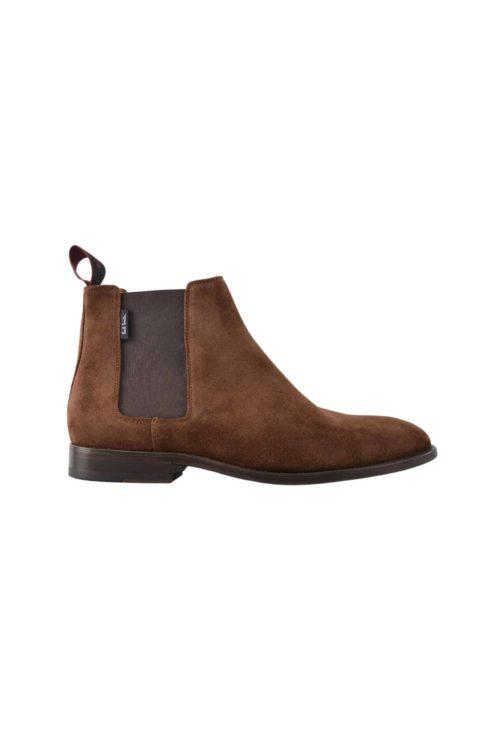 boots daim marron