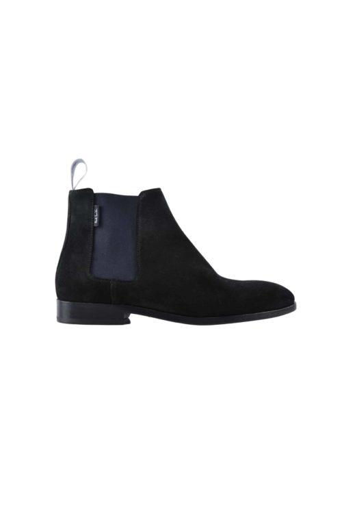 boots daim noir