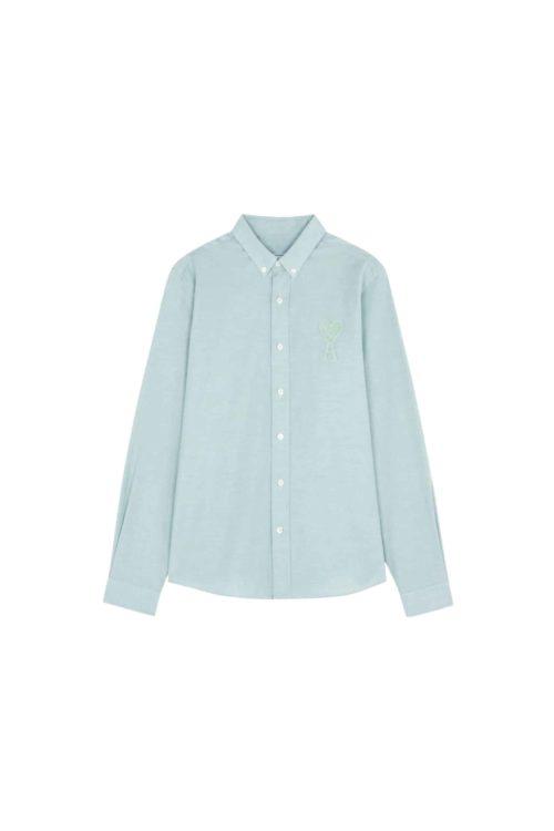 chemise vert