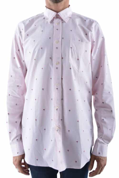 chemise champignons