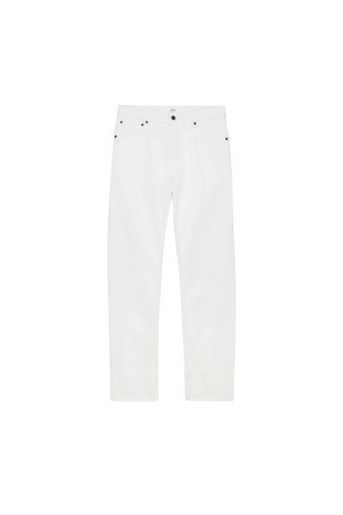 jeans denim blanc