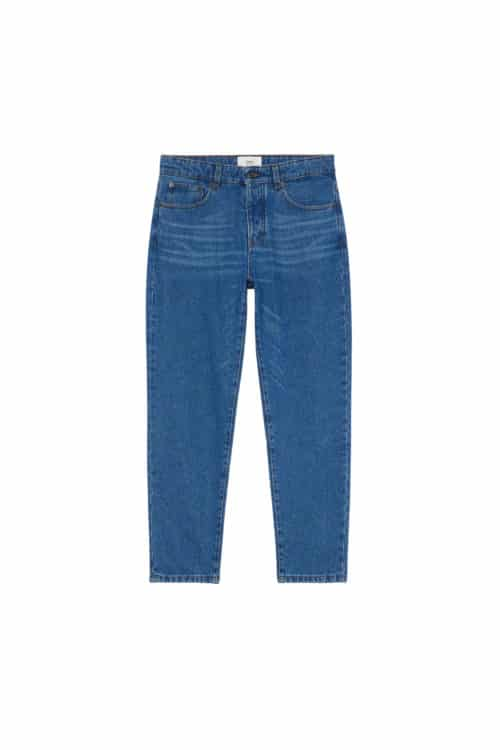 jeans tapered bleu