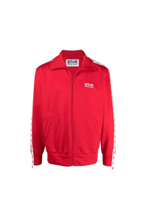 veste jog rouge