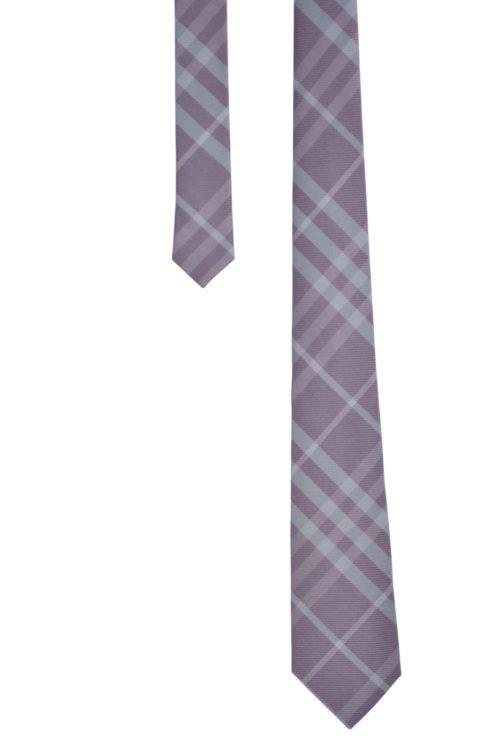 cravate burb violet
