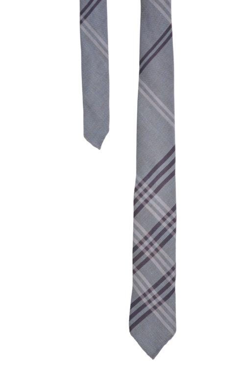 cravate burb gris