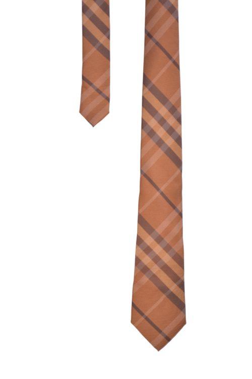 cravate burb orange
