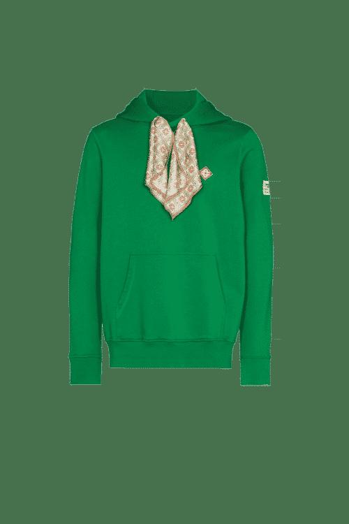 sweat foulard vert